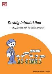 Facklig introduktion - LO