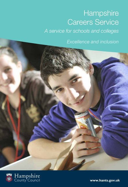 Download the Hampshire Careers and Employability Service leaflet