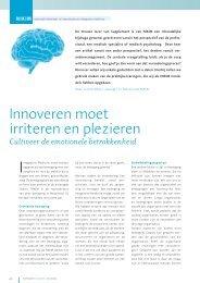 Innoveren moet irriteren en plezieren - Nikim