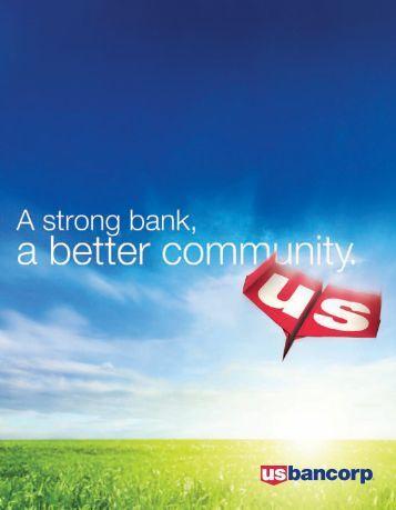 Dear Stakeholders - U.S. Bank
