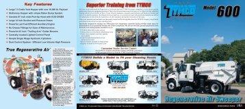 Brochure - TYMCO, Inc.