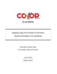 Co-op Atlantic - Canadian Co-operative Association