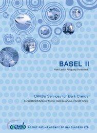 BASEL II Brochure - Credit Rating Agency of Bangladesh