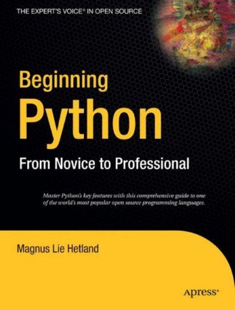 Beginning Python - F