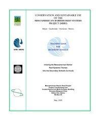 Teachers' Guide for Secondary Schools - Mesoamerican Barrier ...