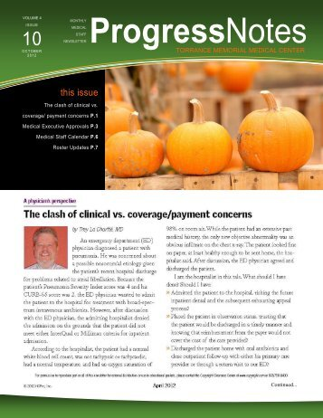 October 2012, Volume 4, Issue 10 - Torrance Memorial Medical Center