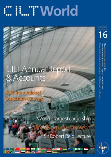 to view file - The Chartered Institute of Logistics and Transport in ...