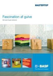 Fascination af gulve - BASF Construction Chemicals
