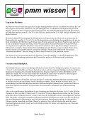 pmm wissen m - Plasmozytom / Multiples Myelom Selbsthilfegruppe ... - Seite 5