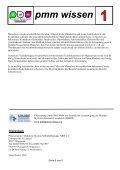 pmm wissen m - Plasmozytom / Multiples Myelom Selbsthilfegruppe ... - Seite 6