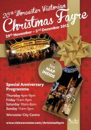 to download 2012_Fayre_Programme.pdf - Worcester