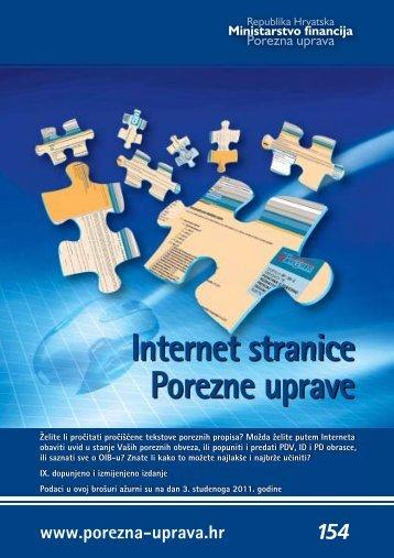 Internet stranice Porezne uprave - Porezna uprava
