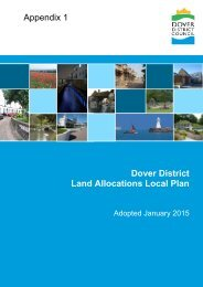 Appendix 1 Land Allocations Local Plan