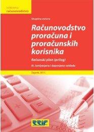 Sadržaj i uvodnik knjige - RRiF
