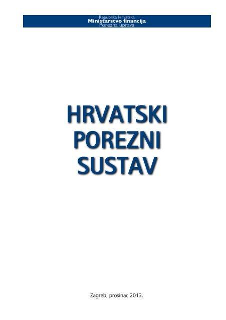 Hrvatski Porezni Sustav Porezna Uprava