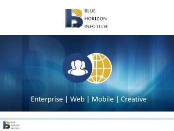 Enterprise   Web   Mobile   Creative