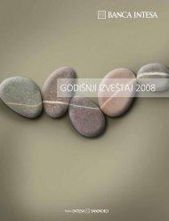 Godišnji izveštaj 2008 - Banca Intesa