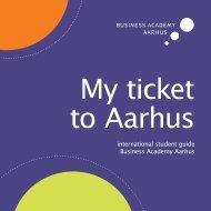 My ticket to Aarhus
