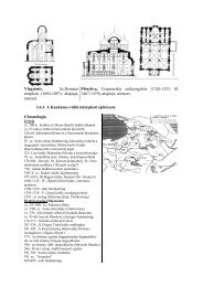Vlagyimir, Sz.Demeter templom (1094-1097), alaprajz, metszet ...