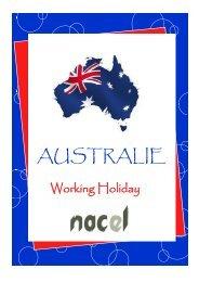Working Holiday Australie 2013.pub - Nacel