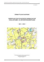 Virenoja, OAS - Orimattilan Kaupunki