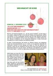 weihnachtsprogramm 2010