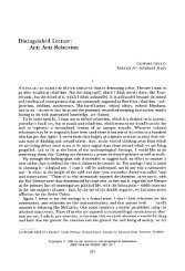 Distinguished Lecture: Anti Anti-Relativism