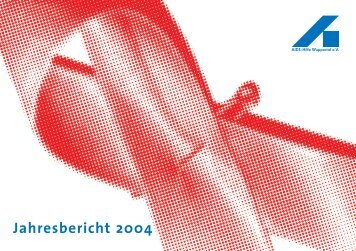 AHW Jahresberichr 2004 RZ_Achim - AIDS-Hilfe Wuppertal eV