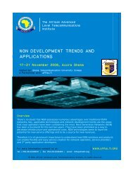 ..NGN DEVELOPMENT TRENDS AND P...APPLICATIONS - GTUC