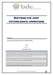 Doctrine for joint psychological operations - Base de connaissance ...