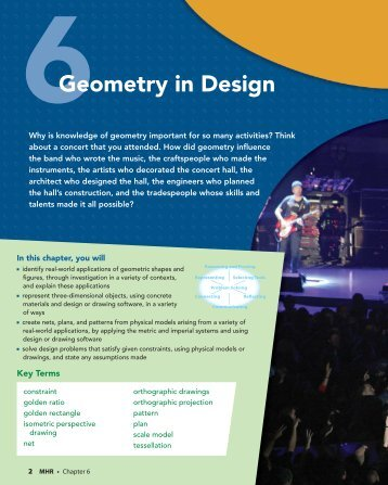 Geometry In Design - McGraw-Hill Ryerson
