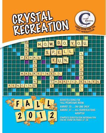 Recreation Brochure - City of Crystal