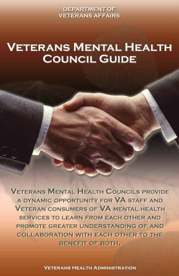 Veterans Mental Health Council Guide - VA Mental Health