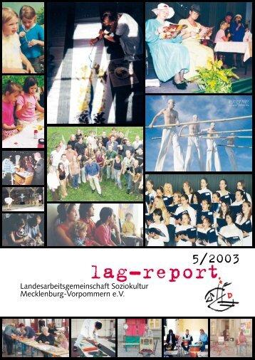 Download lag-report 05 (2003) - Landesarbeitsgemeinschaft ...