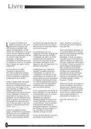 Le bilinguisme et ses perspectives - ACFOS