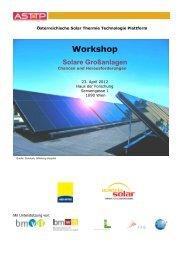 Programm (PDF, 576 kB) - Austria Solar