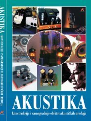 akustika cro korektura 4.p65 - Svet elektronike
