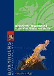 Regler for afbrænding af have - Bornholms Regionskommune