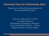 Immunity Care for Community Care - Gathering of Eagles