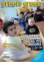 children's centre opens its doors children's centre opens its doors