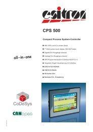 CPS 500 - esitron-electronic GmbH