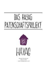 Hayag Patenschaftsprojekt 2013