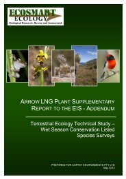 Wet Season Conservation Listed Species Surveys - Arrow Energy