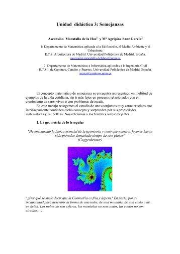 Fractales autosemejantes - ETSI Caminos Canales y Puertos