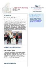 Legislative Update Vol. 1 Issue 3 - Florida Atlantic University ...