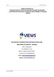 Proposal for Dalit Empowerment by VIEWS-Odisha.pdf - Global Hand
