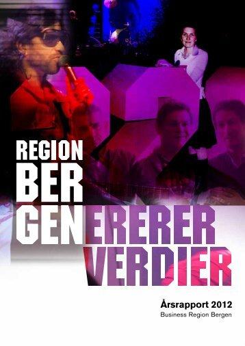 Årsrapport 2012 - Business Region Bergen