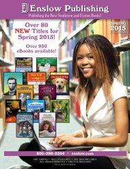 Enslow Publishing Spring 2015 Catalog