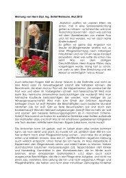 Referenz Weimann Entwurf - BeneVit Pflege