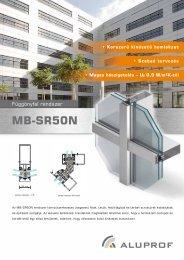 MB-SR50N - Aluprof